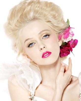 свадебный макияж пион