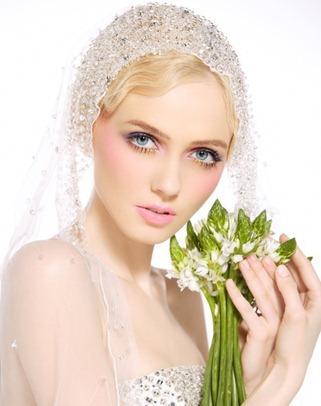 нежный свадебный макияж ландыш