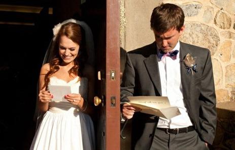 любовные письма в день свадьбы
