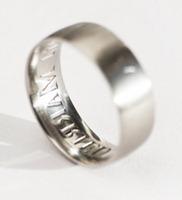 обручальное кольцо из титана