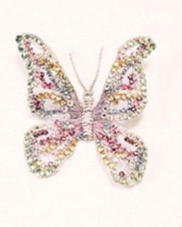 бабочка из стразов сваровски