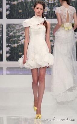 короткое свадебное платье Eme di Eme