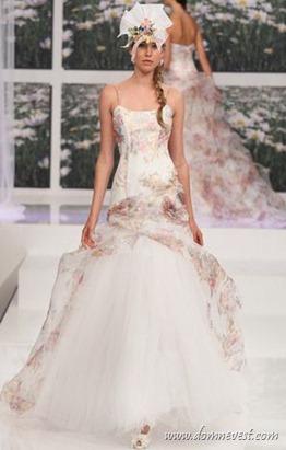 цветочное свадебное платье Eme di Eme