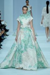 бело-зеленые свадебные платья (1)