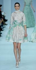 бело-зеленые свадебные платья (2)