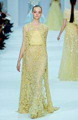 желтые свадебные платья (2)