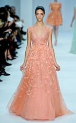 корраловые свадебные платья (3)