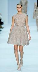 бежевые свадебные платья (3)