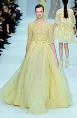 желтые свадебные платья (3)