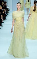 желтые свадебные платья (4)