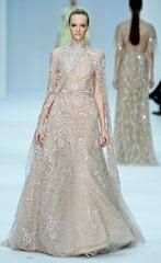 бежевые свадебные платья (6)