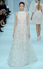 elie saab 2012 белое свадебное платье6
