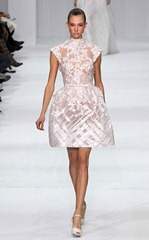 elie saab 2012 белое свадебное платье