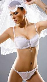 комплект нижнего белья для невесты