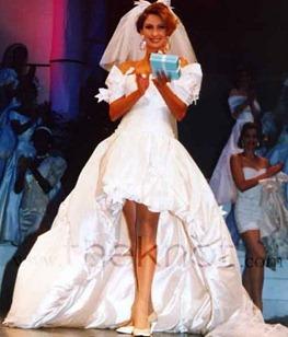 свадебное платье Кармела Сутера