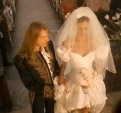 gunsn roses november rain свадебное платье