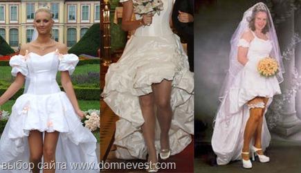 невесты в платьях в стиле november rain