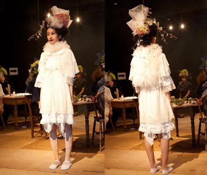 свадебное платье и фата Fur-Fur