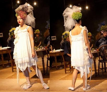 ужасное свадебное платье Fur-Fur
