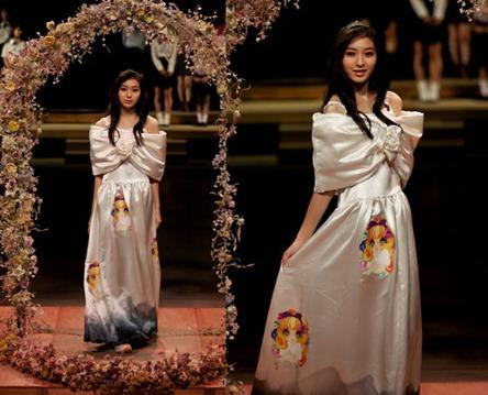 свадебное платье от Jenny Fax