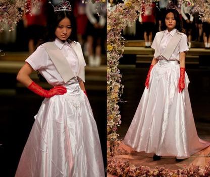 свадебное платье-тройка от Jenny Fax