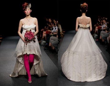 свадебное платье от Junya Tashiro