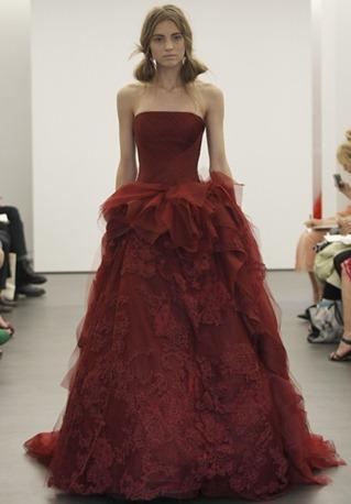свадебные платья vera wang 2013-003