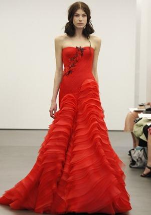 свадебные платья vera wang 2013-008