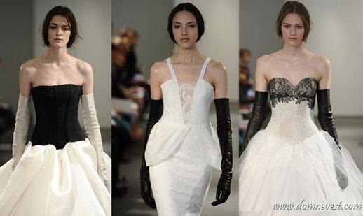 свадебные платья vera wang весна 2014