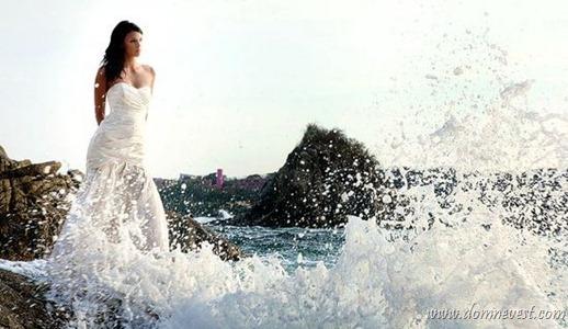 свадебная фотосессия у моря