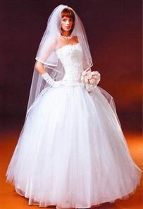 вязаное свадебное платье в стиле принцесса своими руками