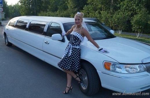 девичник в лимузине