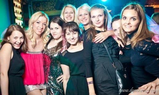 девичник в ночном клубе
