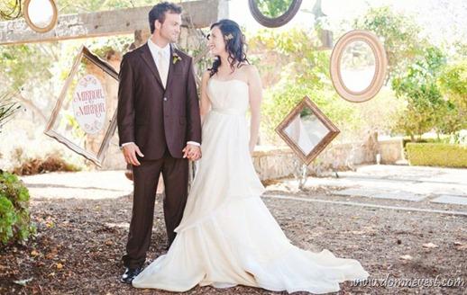 идея фона для свадебной фотосессии