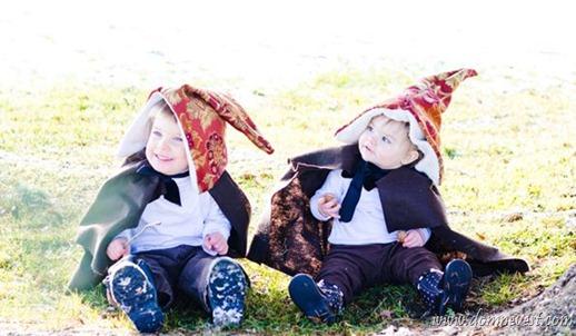 дети на свадьбе гномы