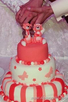 свадебный торт тематический