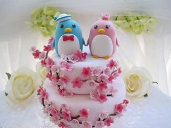 самодельный свадебный торт