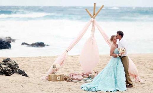 свадьба в экзотической стране