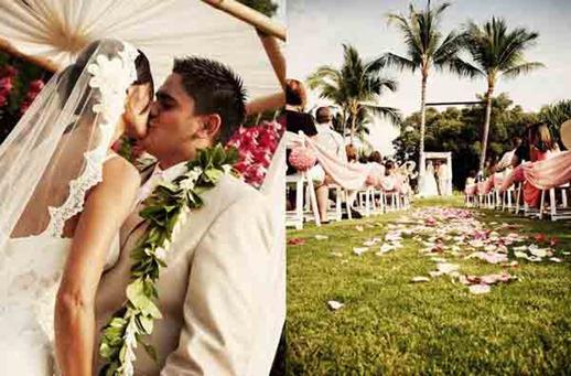 свадьба в экзотичесом месте