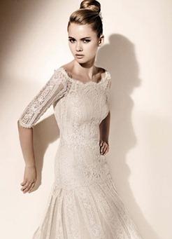 кружевное свадебное платье valentino