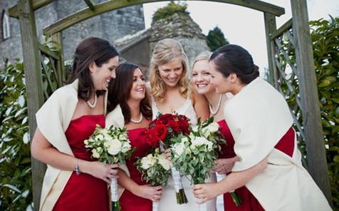 невеста и подруги