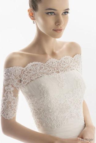Кружевное Свадебное Платье С Болеро 26