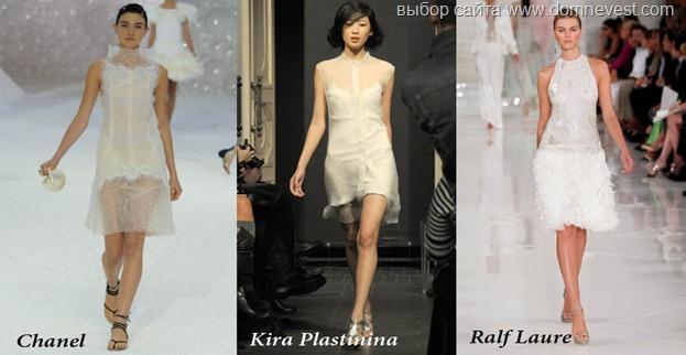 короткие платья 2012