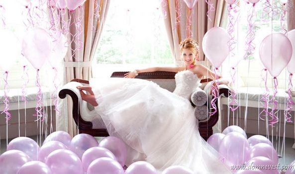 Быстро украсить свадьбу своими руками