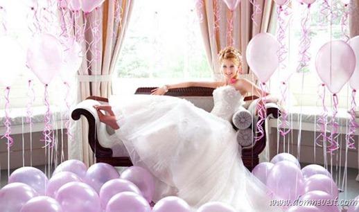 украшение свадьбы своими руками