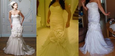 китайское свадебное платье и оригинал