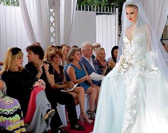 Пугачева выбирает свадебное платье