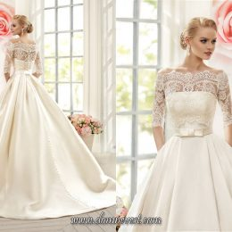 Свадебные платья с длинными рукавами 2017-2018