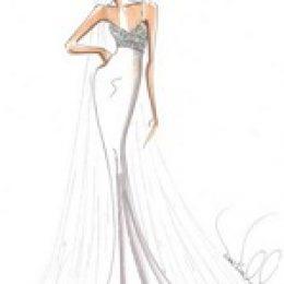 Свадебные платья 2013. Первые эскизы