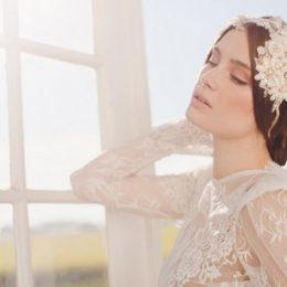 Украшения для прически невесты от Дженни Бальтцер 2014